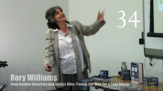 34 Rory Williams from Gender Diversity in the Who-niverse [Video] (0:56)