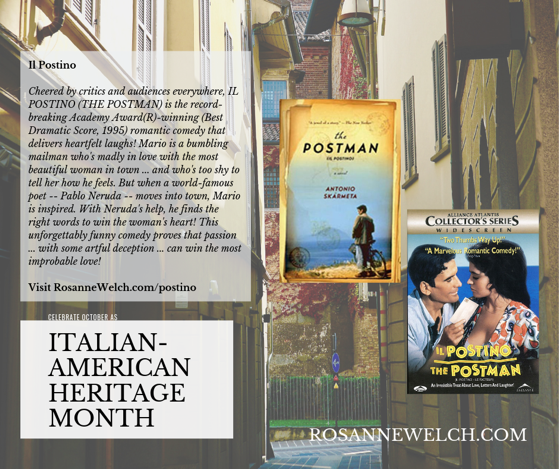Il Postino/The Postman - Italian-American Heritage Month - 18 in a series