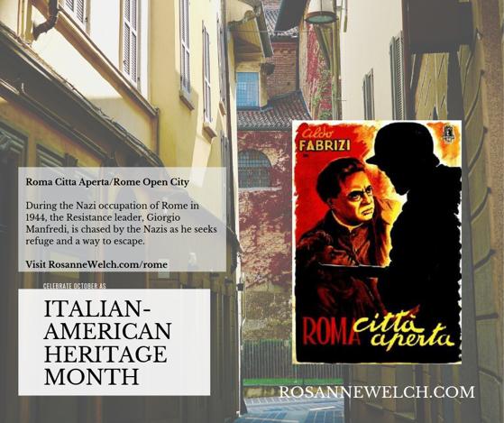 Roma Citta Aperta/Rome Open City - Italian-American Heritage Month - 23 in a series