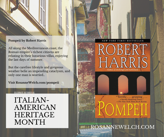 Pompeii by Robert Harris - Italian-American Heritage Month - 27 in a series