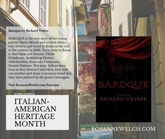 Baroque by Richard Vetere - Italian-American Heritage Month - End of series
