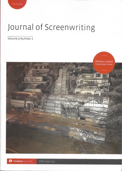 New Journal of Screenwriting Arrives With Lots of Information!