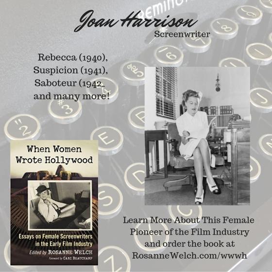 When Women Wrote Hollywood - 36 in a series - Joan Harrison