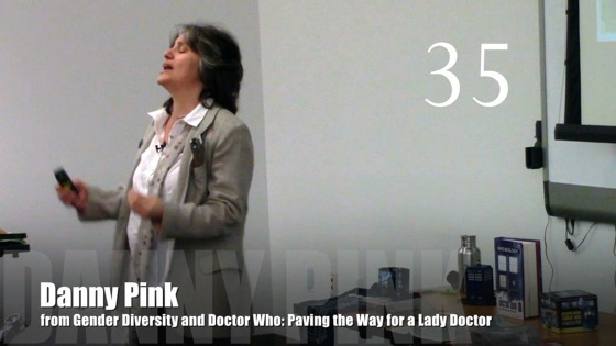 35 Danny Pink from Gender Diversity in the Who-niverse [Video] (1:07)