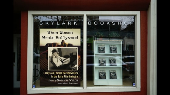 Video: When Women Wrote Hollywood Book Reading and Signing, Skylark Bookshop, Columbia, Missouri