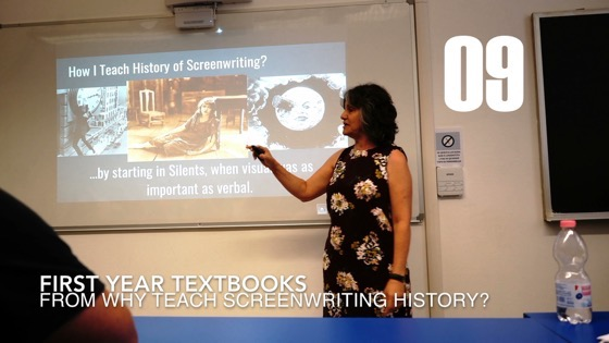 09 First Year Textbooks from Why I Created a History of Screenwriting Course [Video] (49 seconds)