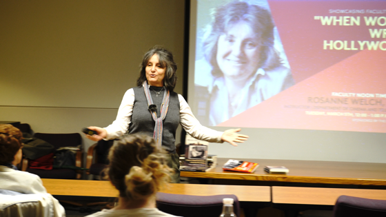Faculty Screenwriter and Author Gives Voice to Forgotten Women via CSUF News Center