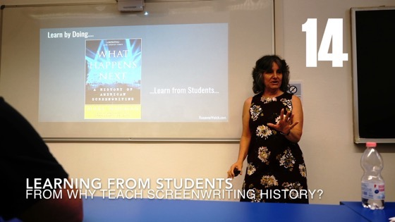 14 Learning From Students from Why (and How) I Created a History of Screenwriting Course