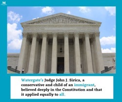 The Mentoris Project Poscast: No Person Above the Law: A Novel Based on the Life of Judge John J. Sirica. [Podcast]