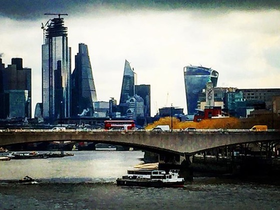 The Shard, the Walkie-Talkie and more LONDON skyline via Instagram