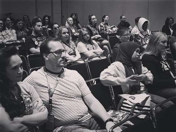 "Audience at ""When Women Wrote Hollywood"" Panel, Denver Pop Culture Con"
