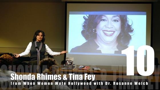 10 Shonda Rhimes & Tina Fey from