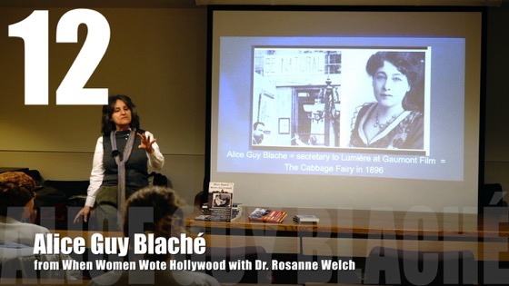 12 Alice Guy Blaché from
