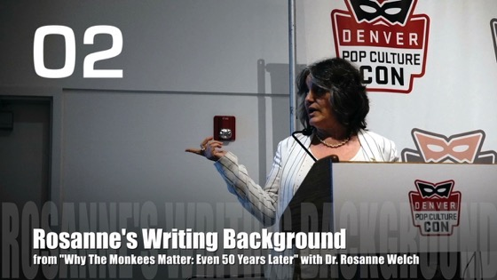 Rosanne's Writing History from