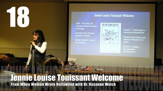 18 Jennie Louise Touissant Welcome from