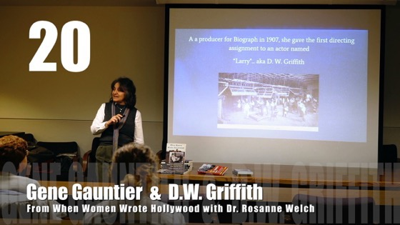 20 Gene Gauntier & D.W. Griffith from