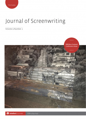 Journal of Screenwriting Cover