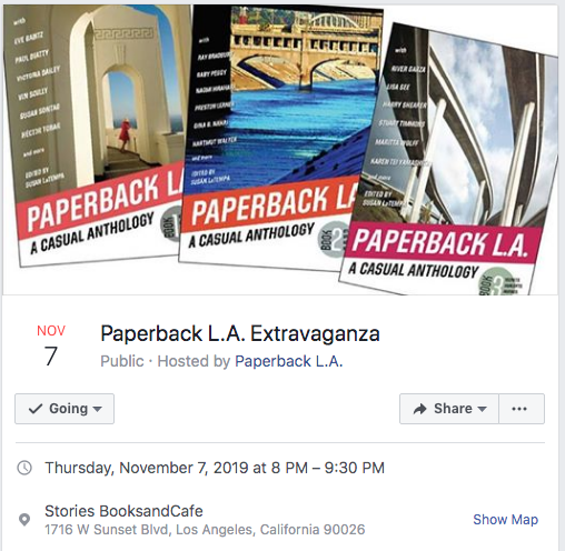 Rosanne Reads At Paperback LA Event in Echo Park - November 7, 2019
