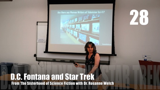 28 D.C. Fontana from The Sisterhood of Science Fiction - Dr. Rosanne Welch