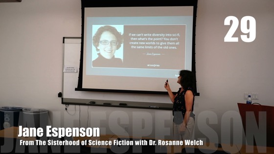 29 Jane Espenson from The Sisterhood of Science Fiction - Dr. Rosanne Welch