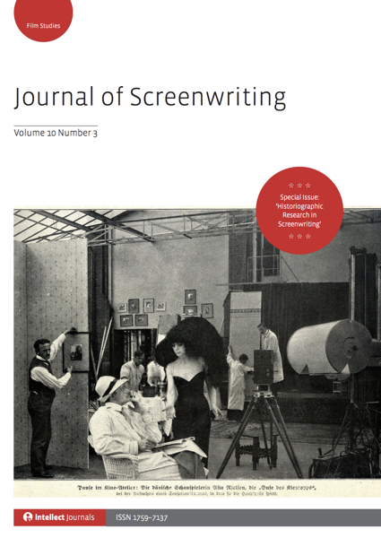 Journal of Screenwriting 10.3 is now available (Historiographic Research in Screenwriting Special Issue)