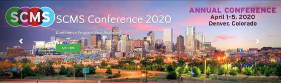 Save The Date! - SCMS (Society for Cinema and Media Studies), April 1-5, 2020, Denver Colorado