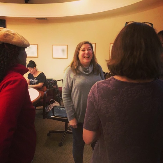 Claudia Puig Speaks On Film Critique at the Stephens College MFA in TV and Screenwriting Winter Workshop (3 photos)