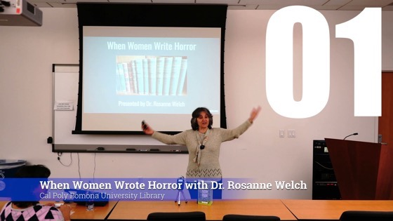 01 Introduction from When Women Write Horror with Dr. Rosanne Welch