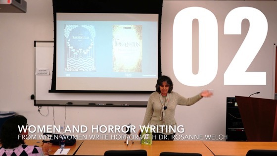 02 Women and Horror Writing from When Women Write Horror with Dr. Rosanne Welch