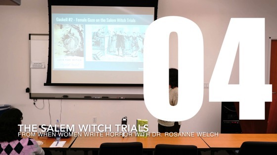 04 Elizabeth Gaskell and the Salem Witch Trials from When Women Write Horror with Dr. Rosanne Welch