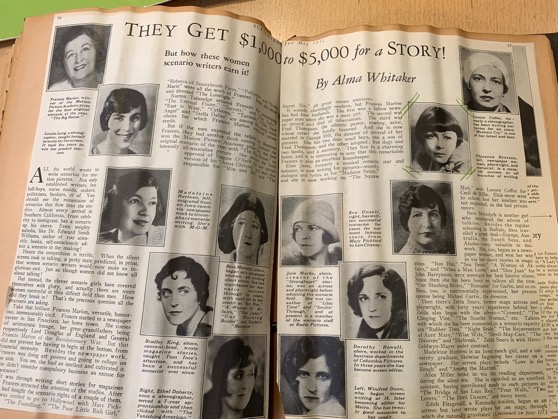 Found Treasure - Some Of The Women Who Wrote Hollywood - Screenland Magazine, 1931