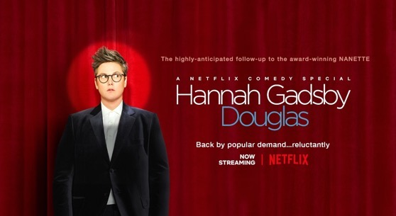 With Hannah Gadsby's new special