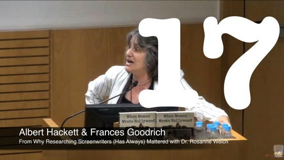 17 Albert Hackett & Frances Goodrich from Why Researching Screenwriters (has Always) Mattered