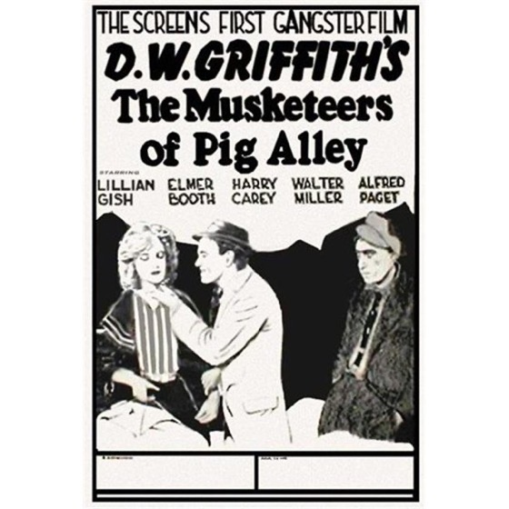 When Women Wrote Hollywood: The Movies - 5 in a series - The Musketeers of Pig Alley (1912) - Wr: Anita Loos