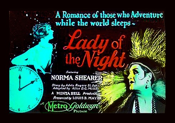 Lady of the NightLobbyCardFramed