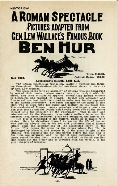 When Women Wrote Hollywood: The Movies - 10 in a series - Ben Our (1907), Wr: Gene Gauntier