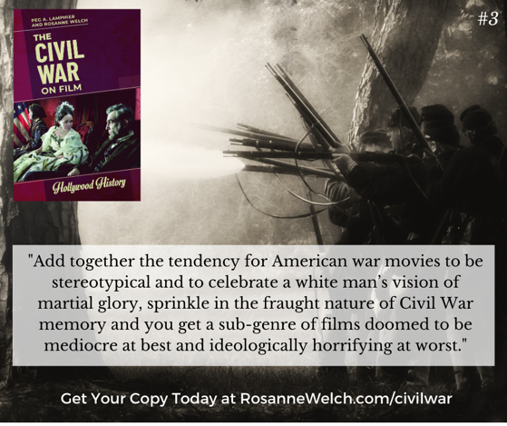 The Civil War On Film - 3  in a series -