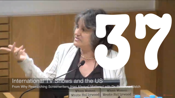37 International TV Shows and the US from Why Researching Screenwriters Has Always Mattered [Video] (41 seconds)