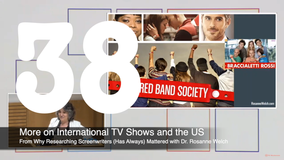 39 More On International TV Shows and the US from Why Researching Screenwriters Has Always Mattered [Video] (1 minute 18 seconds)