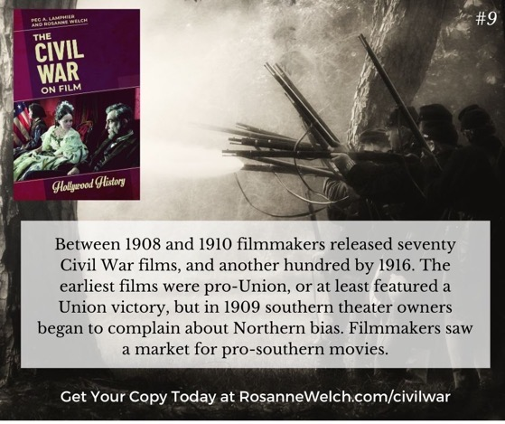 The Civil War On Film - 9  in a series - The earliest films were pro-Union...