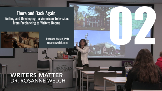 02 Writers Matter from There And Back Again: Writing and Developing for American TV [Video] (1 minute 3 seconds);