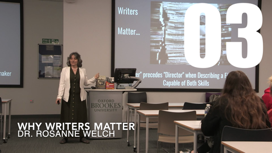 03 Why Writers Matter from There And Back Again: Writing and Developing for American TV [Video] (41 seconds)