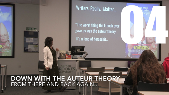 04 Down With The Auteur Theory from There And Back Again: Writing and Developing for American TV [Video] (54 seconds)