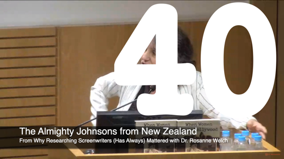 40 The Almighty Johnsons from New Zealand from Why Researching Screenwriters Has Always Mattered [Video] (1 minute 12 seconds)
