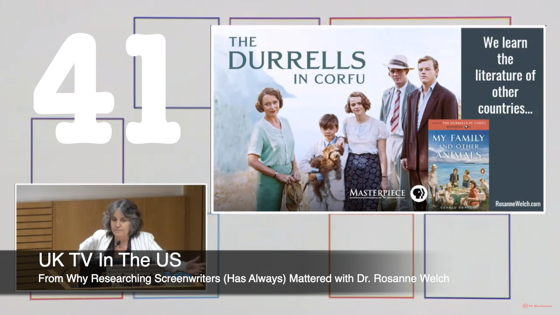 41 UK TV In The US from Why Researching Screenwriters Has Always Mattered [Video] (39 seconds)