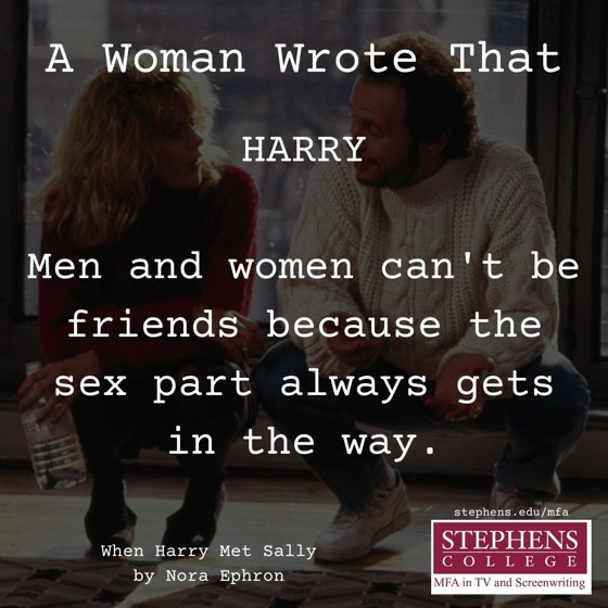 A Woman Wrote That - 10 in a series - When Harry Met Sally (1989) by Nora Ephron