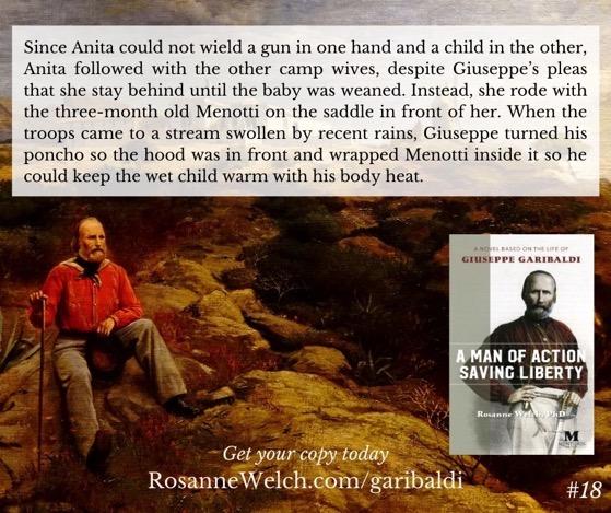 """A Man Of Action Saving Liberty: A Novel Based On The Life Of Giuseppe Garibaldi"" – 18 in a series"