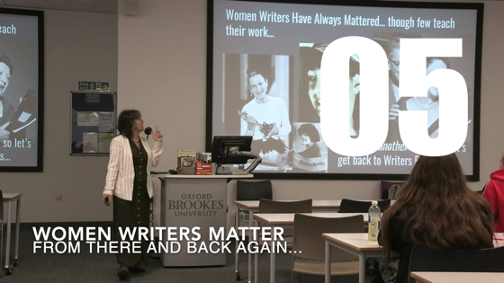05 Women Writers Matter from There And Back Again: Writing and Developing for American TV [Video] (27 seconds)