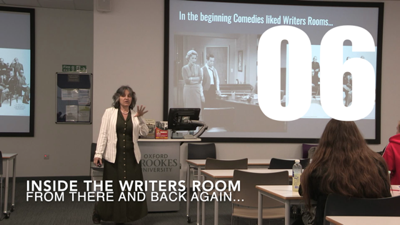 06 Inside The Writers Room from There And Back Again: Writing and Developing for American TV