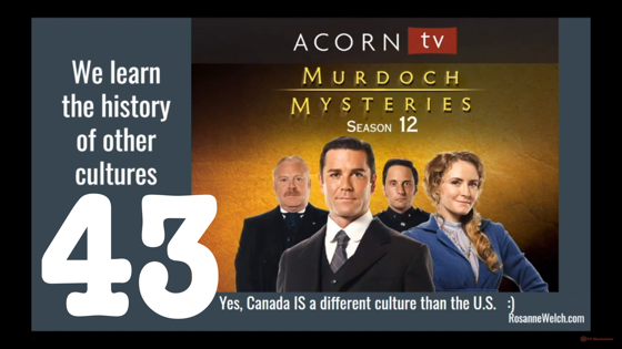 43 Murdoch Mysteries from Canada from Why Researching Screenwriters Has Always Mattered [Video] (1 minute)